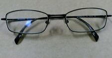 AUTH COLUMBIA MONTANE EYEGLASSES 175 BROWN RECTANGLE WIRE FRAMES C03 52[]19 135