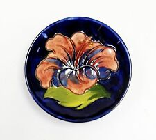Moorcroft 'Hibiscus' dish - Made in England