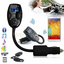 Bluetooth Car Kit Flex MP3 Player FM Transmitter Modulator LCD Display + Remote