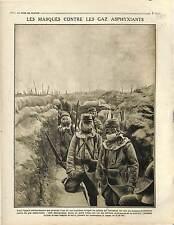 Poilus Masque à Gaz Tranchée Bataille d'Artois/Bombe Mine Pas-de-Calais 1915 WWI
