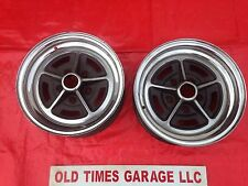 BUICK 14x6 CHROME RALLY WHEELS REGAL SKYLARK GS Original Rims Rally