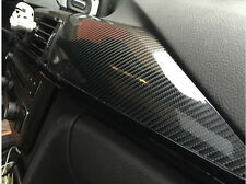 "10""x60""5D Carbon Fiber Vinyl Shinny Gloss Decal Wrap Sticker Ultra With Squeegee"