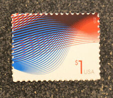2015USA   #4953  $1.00  Patriotic Waves   -  Mint  NH  one dollar 1