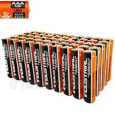 50 Duracell AAA batteries Industrial Procell Alkaline LR03 MN2400 1.5V EXP 2022