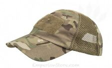 HELIKON-TEX Tactical Baseball Vent Cap Multicam Cappello Military CZ-BBV-PR-14