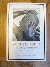Auguste Rodin von Rainer Maria Rilke mit 97 Bildtafeln INSEL Teil I Verlag K0227