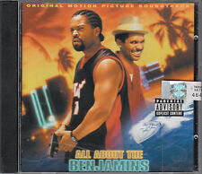All About The Benjamins Film Soundtrack CD NEW Puff Daddy O'Jays MYA FASTPOST