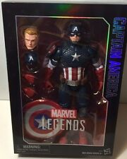 CAPTAIN AMERICA Marvel Legends 12in Collector Series Figure 2016 Hasbro IN STOCK