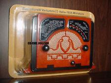 RADIOMARELLI VERTUMNO II ITALY RADIO 1934 MINIATURE