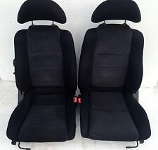 Black Cloth Seats Recline Sports Toyota MR2 mk2 SW20 2.0L GT Runners Subframe
