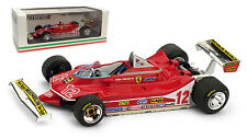 Brumm Ferrari 312 T4 #12 French GP 1979 - Gilles Villeneuve 1/43 Scale