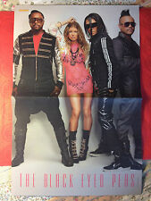 THE BLACK EYED PEAS / EMILY OSMENT - DOUBLE-SIDED POSTER FROM POPCORN MAGAZINE