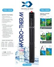 HYDRO-THERM 100W AQUARIUM HEATER WITH HEATER GUARD FISH TANK SUBMERSIBLE STAT