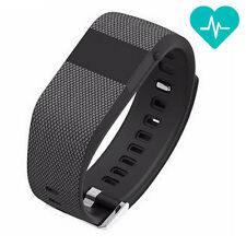 Heart Rate Monitor Bluetooth Smart Watch Bracelet Fitness Sports Wrist Band US