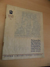 OLD VINTAGE BOOK 1930S royalty KING GEORGE VI CORONATION BOOK ILFORD PHOTOS