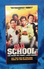 Old School (VHS, 2003, R-Rated Version)
