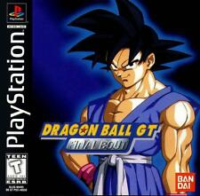 Dragon Ball GT Final Bout PS1 Great Condition Original Release