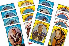 LNR Rugby League (1968) - carte postale / Carte de gomme ensemble # 2