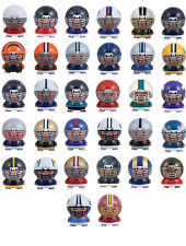 32 NFL FOOTBALL BUILDABLE FIGURES WITH LARGE HELMETS CARNIVAL PARTY FAVORS GOODY