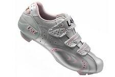 Lake-CX 165 bicicleta de carreras zapato señora zapato talla 39 plata/rosa