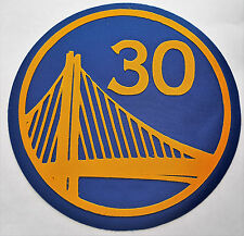 HUGE GOLDEN STATE WARRIORS IRON-ON PATCH - 7.25""
