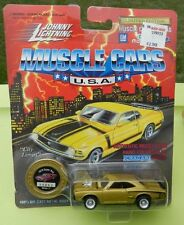 #11 GOLD 70 DODGE CORONET SUPER BEE SCAT PACK BOYS 1970 1995 JOHNNY LIGHTNING JL