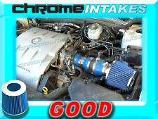 BLUE 00 01 02 03/2000 2001 2002 2003 CADILLAC DEVILLE 4.6 4.6L V8 AIR INTAKE KIT