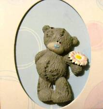 Me to You Tatty Teddy with Pink and White Flower Pin New