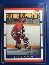 ERIC LINDROS 1990 Score Card #440