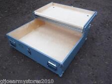 NEW Military Footlocker Underbed Storage Blanket Memory Box Bedroom Furniture