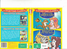 The Little Mermaid-1989/Beauty And The beast-2 Storytime Classics-Animated-DVD