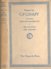 Poems by C. P. Cavafy