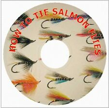 HOW TO TIE SALMON FLIES Illustrated Directions METHODS OF TYING on CD