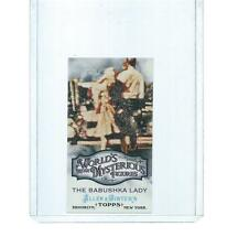 2011 TOPPS ALLEN & GINTER WORLD'S MYSTERIOUS FIGURES THE BABUSHKA LADY #WMF6