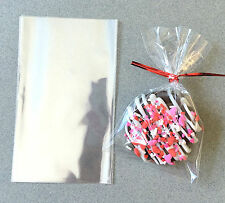 "50 Flat Cellophane Bags, Cello Bags, Wedding Favor Bags - 3"" x 5"""