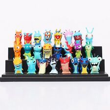 24pcs Lot Slugterra Elemental Slugs Toy Slug Terra Action Figure Doll Decoration