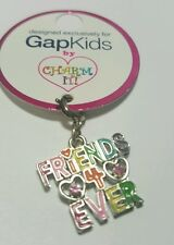 Gap- Charm IT by High Intencity ! FRIENDS 4 EVER For Bracelet / Necklace