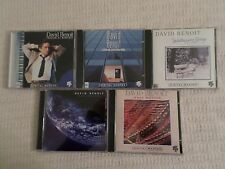 Lot 5 David Benoit CDs: Inner Motion, Earthglow, Waiting For Spring
