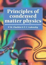 Principles of Condensed Matter Physics by T. C. Lubensky and P. M. Chaikin...