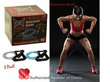 TapouT XT [PACK OF 2] Resistance Bands + WARRANTY✓ Yoga✓ Pilates✓ ABS✓ Fitness✓