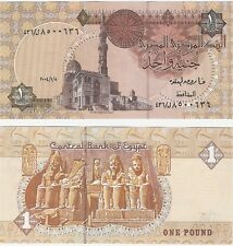 Egypt 1 Pound 2004 P-50i NEUF UNC Uncirculated Arabic Banknote