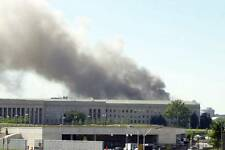 Photo. September 11, 20001.  Smoke Coming From Pentagon After Attack