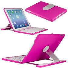 360 Stand Rotating Smart Cover WITH Bluetooth Keyboard Folio Case For iPad Air 2
