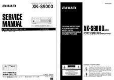 AIWA XK-S9000  Service & User Manual  XK S9000  XK S 9000