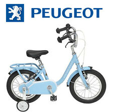 "Velo 14"" child PEUGEOT Legend stabilizer Blue retro vintage NEW child bike"