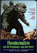 Frankenstein und die Ungeheuer aus dem Meer Filmposter A1 Gojira, Ebirâ, Mosura
