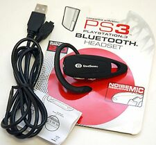 Game Shark PS3 Playstation-3 Wireless BLUETOOTH 2.0 HEADSET gaming USB Charging