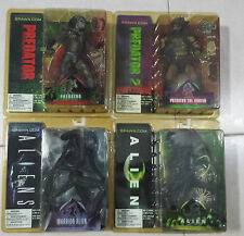 McFarlane Toys Aliens and Predators Set of 4