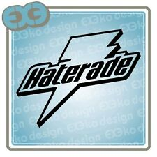 New Funny Haterade JDM Decal Label Badge Window Door Bumper Sticker Subaru WRX