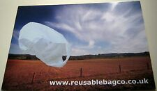 Advertising recycling Reusable bag company - unposted